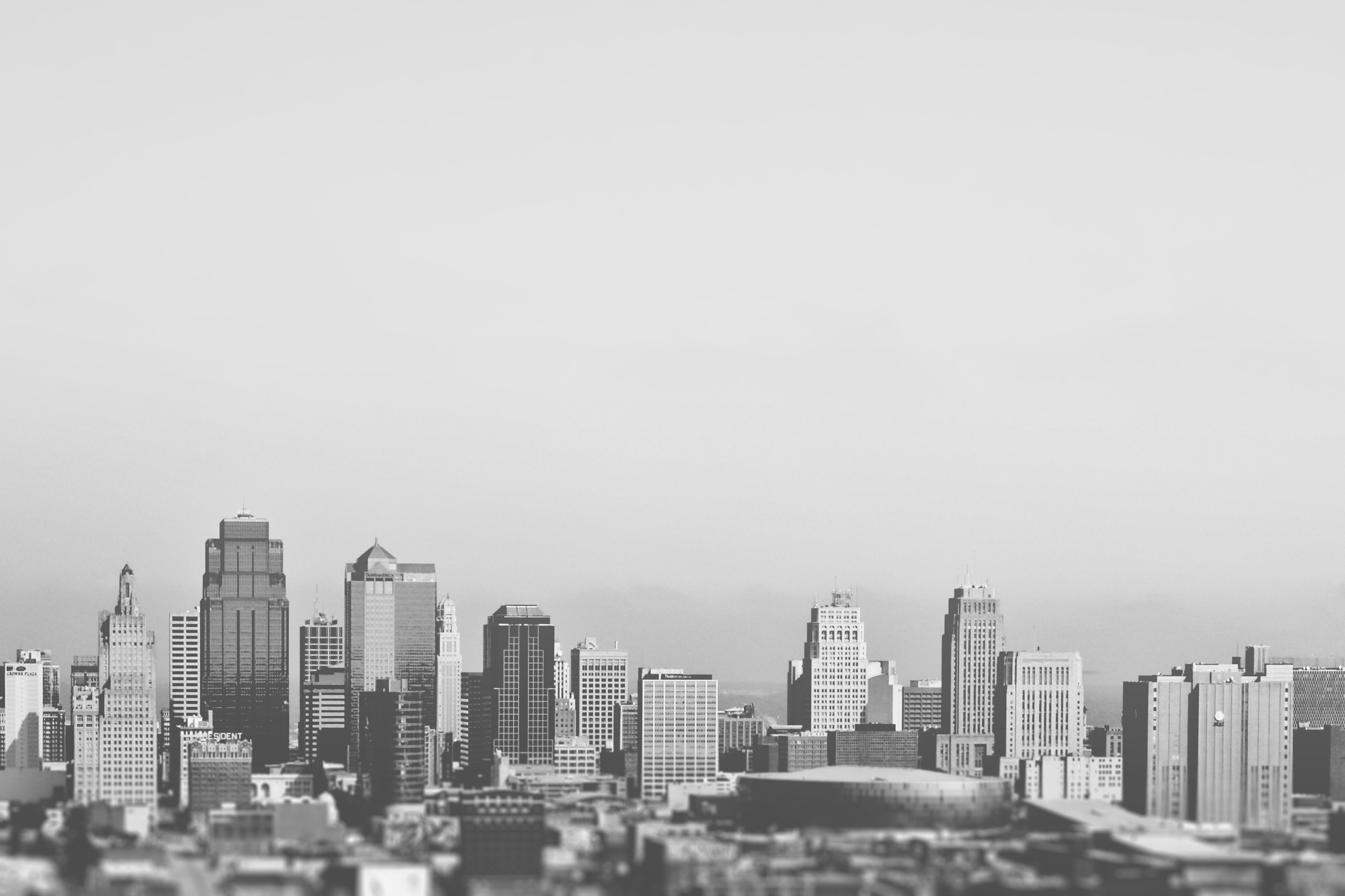 A view of the city's skyline