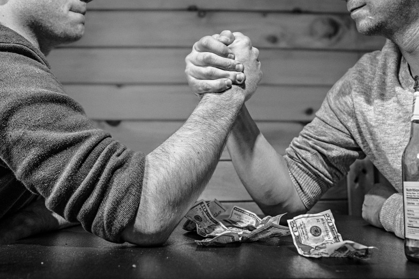 Battle of the Ads - Arm Wrestling